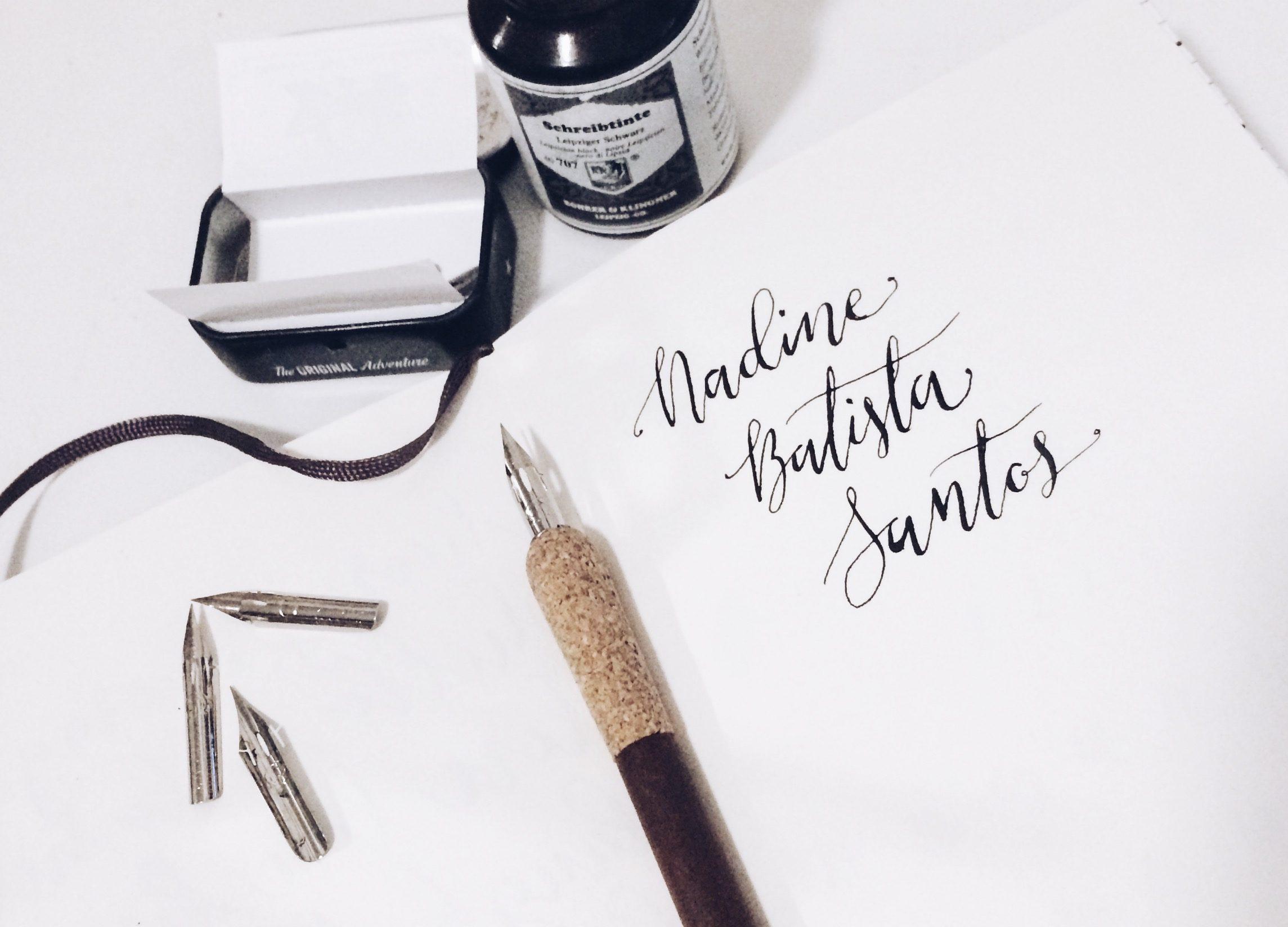 modern calligraphy | nadinebatista.de